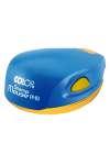 Оснастка для печати круглой, полуавтоматическая карманная пластмассовая D 40мм (желтый неон, зелёный неон, оранжевый неон, розовый неон, жёлто-синий, серый)