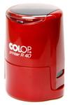 Оснастка для печати круглой, автоматическая пластмассовая D 40мм, с защитной крышкой (красный, желтый, зеленый)