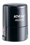 Оснастка для печати круглой, автоматическая пластмассовая D 42мм, с защитной крышкой (черный, синий, красный)