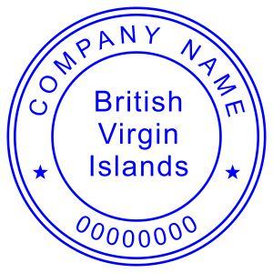 Печать иностранного государства Британские Виргинские Острова