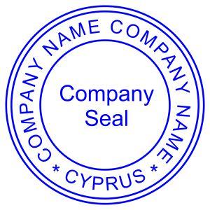 Печать иностранного государства Кипр