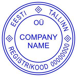 Печать иностранного государства Эстония