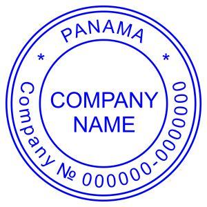 Печать иностранного государства Панама