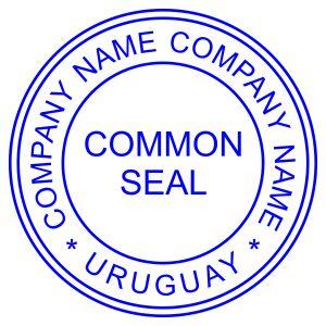 Печать иностранного государства Уругвай